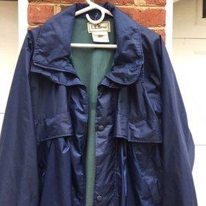 LL Bean Vintage Rain Jacket (Medium)